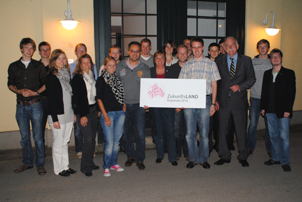 JU-Mitglieder besuchen die Regionale2016-Geschäftsstelle in Velen