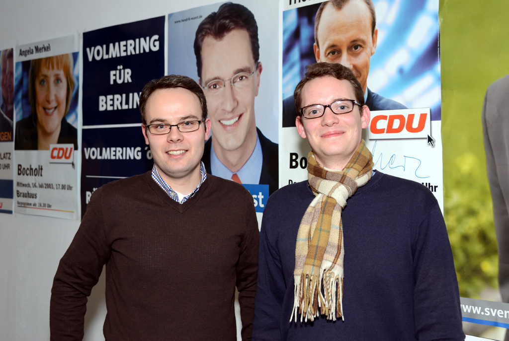 Thomas Eusterfeldhaus und Julian Kiefmann (v.l.)